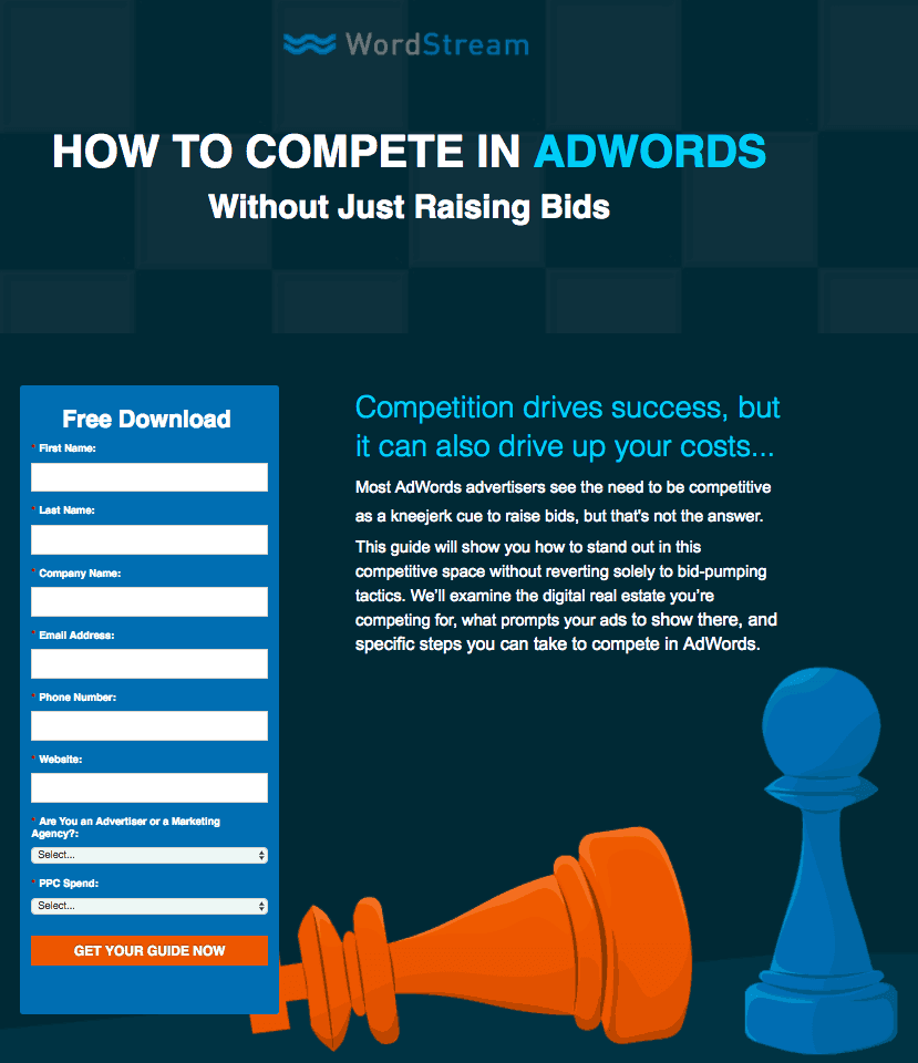 How to compete in AdWords